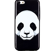 Panda Pattern TPU Phone Case for iPhone 5C
