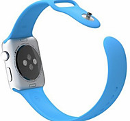 iWatch Band for Apple Watch Sport Silicone Strap I Watch  Band with Connector