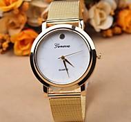 quadrante dell'orologio della cinghia lega semplice ed elegante