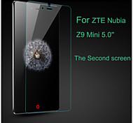 verre trempé film de protection d'écran pour ZTE nubia z9 mini-