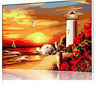 DIY Digital Oil Painting  Frame Family Fun Painting All By Myself  Cape Tianya X5030