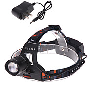 3 Mode 1200 Lumens Headlamp 18650 Adjustable Focus Cree XM-L T6