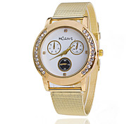 Woman's Watches High Fashion Diamond fFalse Eyes Of Three Gold Watches Cool Watches Unique Watches