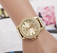 Woman's Watch Europe And The United States Hot Lovers Fashion Diamond Watches Swiss Quartz Alloy Steel Watch
