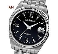 EASMAN® Brand Watch Men Black Big Quartz Watches For Men Sapphire Men Fashion Wristwatches Designer Luxury Mens Watches