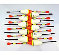 venta anmuka caliente! 10pcs 4.5g peces boya verticales flota pesquera establecer flotador flotadores de pesca herramientas señuelo