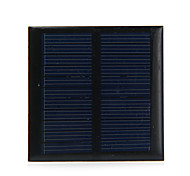 0.6W 5.5V Output Polycrystalline Silicon Solar Panel for DIY