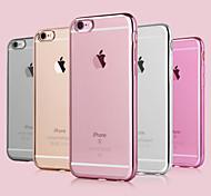 Назначение iPhone 8 iPhone 8 Plus iPhone 7 iPhone 7 Plus iPhone 6 iPhone 6 Plus Чехлы панели Покрытие Задняя крышка Кейс для Сплошной цвет