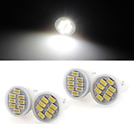 10 * T10 8 LED 3014 SMD White Car Wedge Side License Plate Light Bulb Lamp