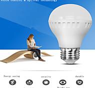 Bombillas LED Inteligentes Activada por Sonido / Decorativa LERHOME G50 E26/E27 3W 12 SMD 360 LM Blanco Fresco AC 100-240 V 1 pieza