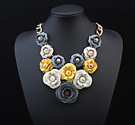 European Style Fashion Elegant Flowers Necklace