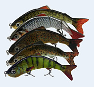 "Señuelos duros 17.5g g / 5/8 Onza , 120 mm / 4-3/4"" pulgada 5 pcsPesca de Mar / Pesca a la mosca / Pesca de baitcasting / Pesca en hielo"