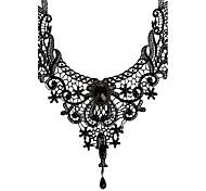 Жен. Ожерелья-бархатки Ожерелья с подвесками Бижутерия Кружево Винтаж Свадьба бижутерия Бижутерия Назначение Свадьба Для вечеринок