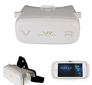 "Google Cardboard VR BOX Version VR Virtual Reality Glasses 3D Glasses VR for 4""~6"" Smartphone"