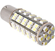 2 x Car 1156 1073 7527 Tail Brake parking Bulb Lamp White 68 SMD LED Light 12V