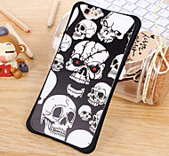 The New Skull Series Waistline Combo Back Cover for iPhone6/iPhone 6s(Assorted Colors)