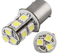 2* Car 1156 BA15S Tail Turn Stop Parking Side Lamp 5050SMD White 13 LED Light 12V