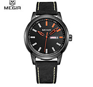 Megir male watch mens watch fashion brief waterproof sports watches watch 1064