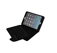 Litchi Grain Fission Bluetooth Keyboard Leather Case for iPad mini 3 Assorted Color