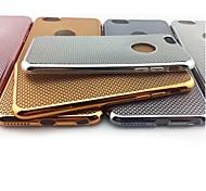 chapado de lujo líneas trenzadas caja del teléfono del tpu súper suave para el iphone 6 / 6s (varios colores)