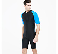 SBART Summer Anti-uv Short Sleeve Nylon Men Surfing Rashguard Swimming Suit Multi-colors