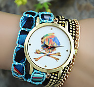 Ladies' European Style Fashion Pirate Captain Wrist Watch Bracelet Watch