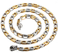 Weman and Man Cute  Party  Work  Casual Titanium Steel Chain