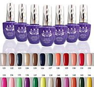 1 pcs ana 192 couleurs nail art gelpolish ongles en gel uv tremper hors de 15ml 121-144
