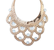 European Style Fashion Style Layers of Semi Necklace