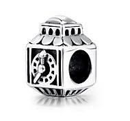s925 grano del grano collar pulsera de plata esterlina para las pulseras de plata del encanto europeo