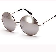 Sunglasses Men / Women / Unisex's Retro/Vintage / Modern / Fashion Round White / Gold / Red / Blue Sunglasses Full-Rim
