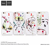 HOCO R The 12 Chinese Zodiac Fashion TPU Mobile Phone Shell for iphone6 PLUS/6S PLUS 5.5 Assorted Colors