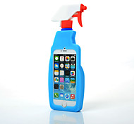 Fashion Fresh Moschino Cleaning Spray Silicone Cover for iPhone 6s 6 Plus