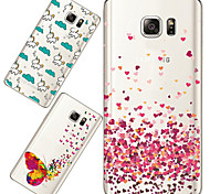 MAYCARI®Loving so Much Soft Transparent TPU Back Case for Samsung Galaxy Note 5 (Assorted Colors)