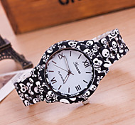 Woman And Men Fashion Skull Head Print Wrist  Watch Cool Watches Unique Watches