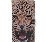 LG G4 PU Leather / TPU Full Body Cases / Cases with Stand Graphic / Special Design case cover