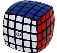 QJ 5 Layers Magic Cube Bread Type Cube (Black Edge)