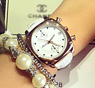 Fashion / Luxury Leather Ladies Watch Calendar Watch