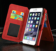 New Luxury Multifunction Split Zipper Wallet Card Cell Phone Case for iPhone 6 Plus/6S Plus (Assorted Colors)