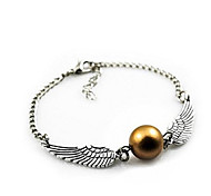 Harry Potter and the Golden Snitch Bracelet ,Gift Jewelry