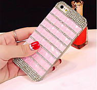 Upscale Luxury Bling Crystal Glitter Diamond Rhinestone Cell Phone Case Cover For iPhone 6/6S (Assorted Colors)