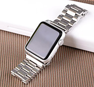 Three Bead SteelWatch Loop Band Stainless Steel Mesh for Apple Watch Iwatch Strap Watchbands 42mm/38mm Thick Style