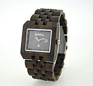 Vintage Mens Wood Watch, Mens Wooden, Japan Quartz WristWatch,Gift Idea,Wedding Gift (Assorted Colors) Wrist Watch Cool Watch Unique Watch