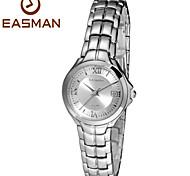 EASMAN Watch Women Brand Water Resistant Watches Steel Round New Style Sapphire Date Wristwatches Women Watch