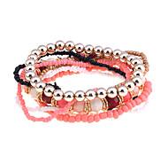 Bohemia Handmake Colorful Beads Bracelet Set