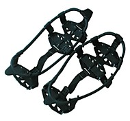 Traction Cleats Crampons Metal Black