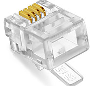 shengwei® rc-1050 RJ11-Stecker 4c 50pcs für Telefon