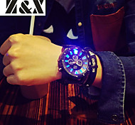 Men's Fashion Personality Silicone Quartz Analog Luminous Watch(Assorted Colors) Cool Watch Unique Watch