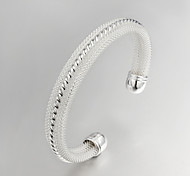 Fashion Noble Quality 925 Sterling Silver Bracelet Bangles Party Daily Bangles For Woman&Lady Jewelry