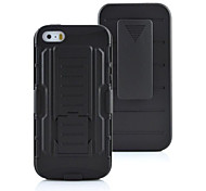 Armor Hybrid Case Military 3 in 1 Combo Cover For iPhone 5/5S